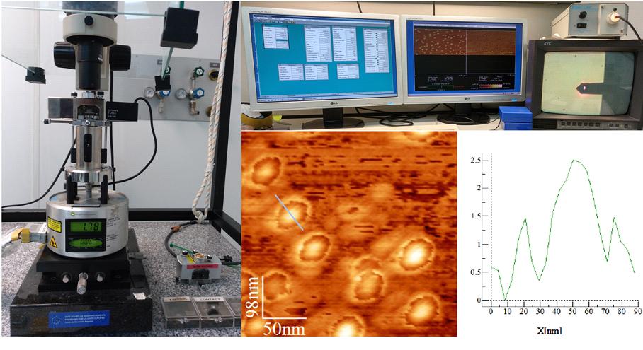 Microscopio De Fuerza Atomica Afm Isom Web